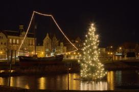Weihnachstimmung in Cuxhaven an der Nordsee