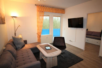 neue Einrichtung in allen Zimmern vom Wohnzimmer bis zur Küche