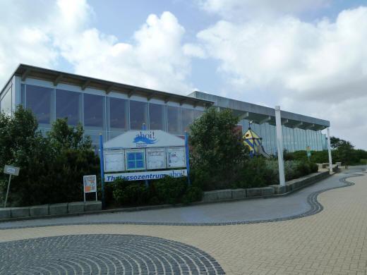 das Ahoi-Schwimmbad in Cuxhaven Duhnen