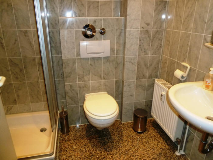 Haus Amrum nr.18 das Badezimmer