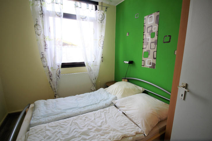 Schlafzimmer 2 in bensersiel Taddingshörn 265