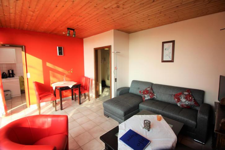 Wohnzimmer aufgenommen am 4.11.2017 in Bensersiel