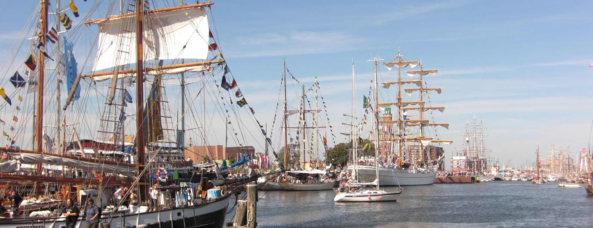 Seehafenstadt Bremerhaven-Sail Bremerhaven alle 5 Jahre