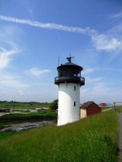"Leuchtturm ""Dicke Berta"" in Cuxhaven Altenbruch"