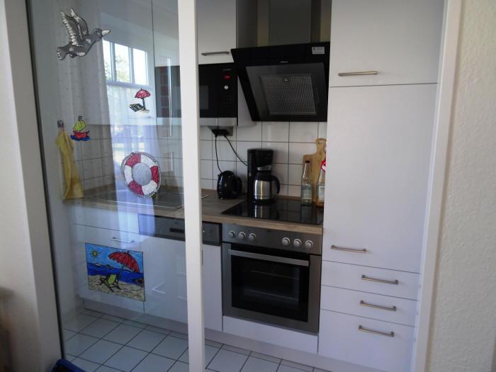 Vitamar Dorum-Neufeld, z.B. Haus Jupiter Wohnung Dat Schott, hier die Küche
