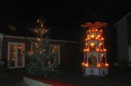 Weihnachten in Dorum an der Nordsee