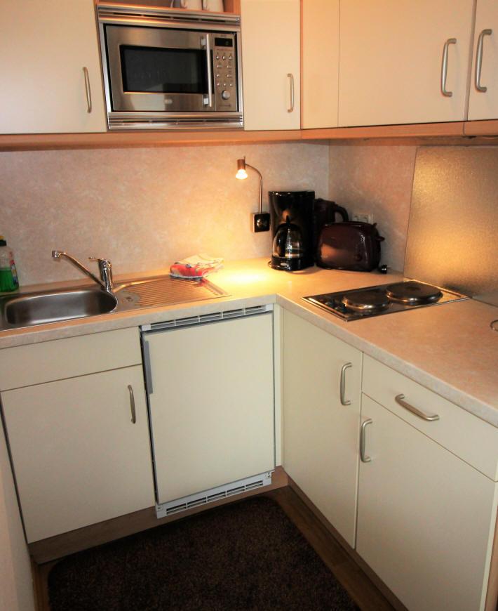 Hier die Küche im Detail