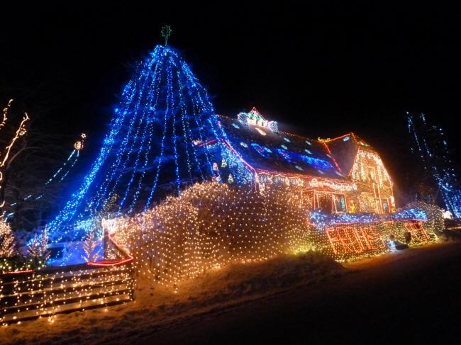 Calle und das Weihnachtshaus