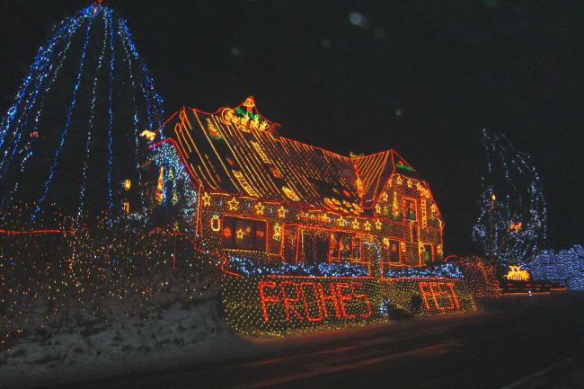 Frohe Weihnachten aus Calle bei Hoya an der Weser. genauer gesagt im Mittelwesergebiet
