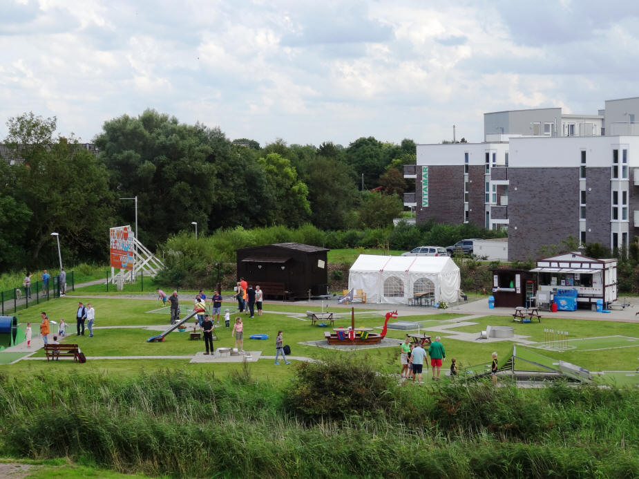 Godi Golf in Dorum-Neufeld im September 2016