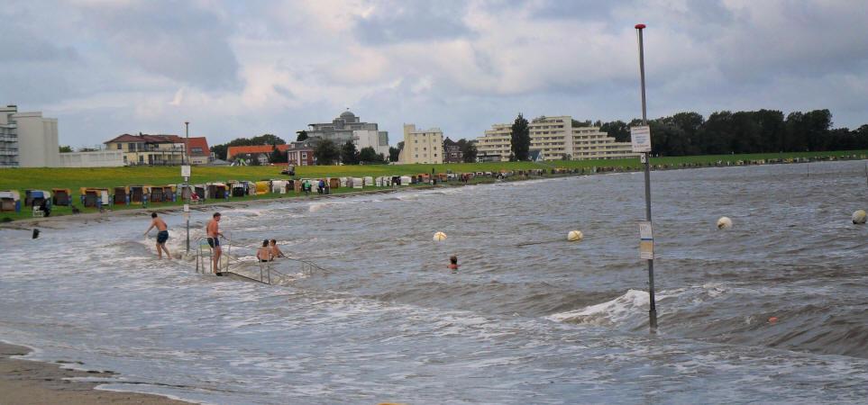 Cuxhaven und die Nordsee