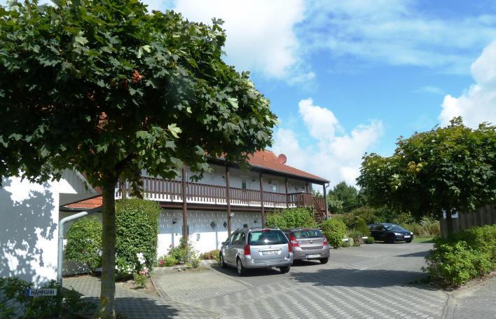 Haus Seeadler im K?tenbadeort Dorum-Neufeld, Hof
