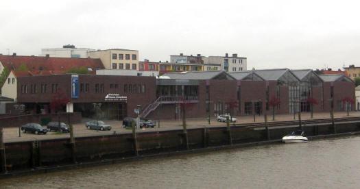 Das historische Museum an der Geeste in Bremerhaven. Hier wird die Geschichte Bremerhavens dargestellt.