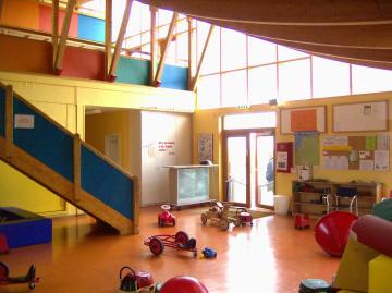 Das beliebte Kinderspielhaus in Dorum-Neufeld