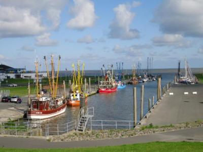 Der Kutterhafen am Dorumer Tief
