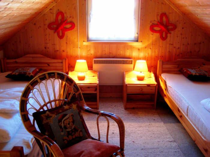 Das zweite Schlafzimmer mit 2 Einzelbetten