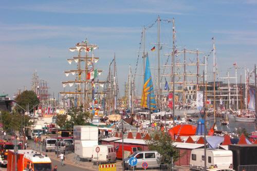 """L?te sail 2008 in Bremerhaven"""".Es war gigantisch"""