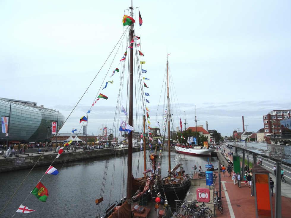 HavenweltenKlimahaus und sail 2015