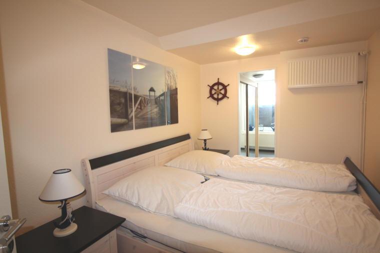 Schlafzimmer der ferienwohnung de Schuufut