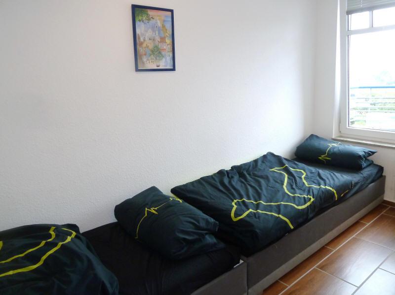 Gästezimmer mit zwei Betten
