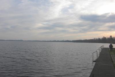 Der See in Bad Bederkesa