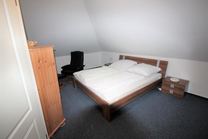 Ferienhaus Solar im November 2017, großes Schlafzimmer Dachgeschoss