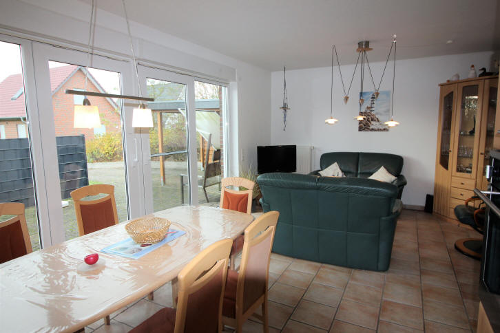 Ferienhaus Solar im November 2017, Wohnzimmer