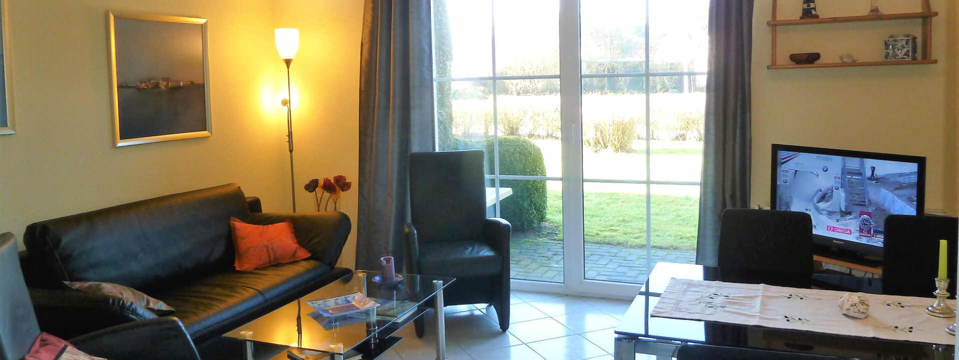 Haus Sonnenstrahl Nr.6. Ferienwohnung für zwei bis 3 Personen. WLAN inklusive