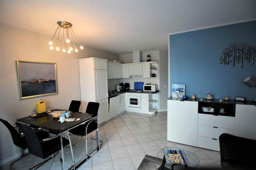 Wohnung Sonnenstrahl Nr.6, neu renoviert und tapeziert mit neuen Trendfarben.