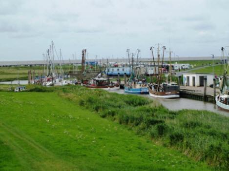 Kutter-und Yachthafen in Spieka-Neufeld