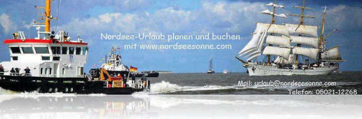 Nordsee-Urlaub planen und buchen mit www.nordseesonne.com in den Urlaubsorten Dorum-Neufeld, Wremen, Bremerhaven, Cuxhaven und Bensersiel