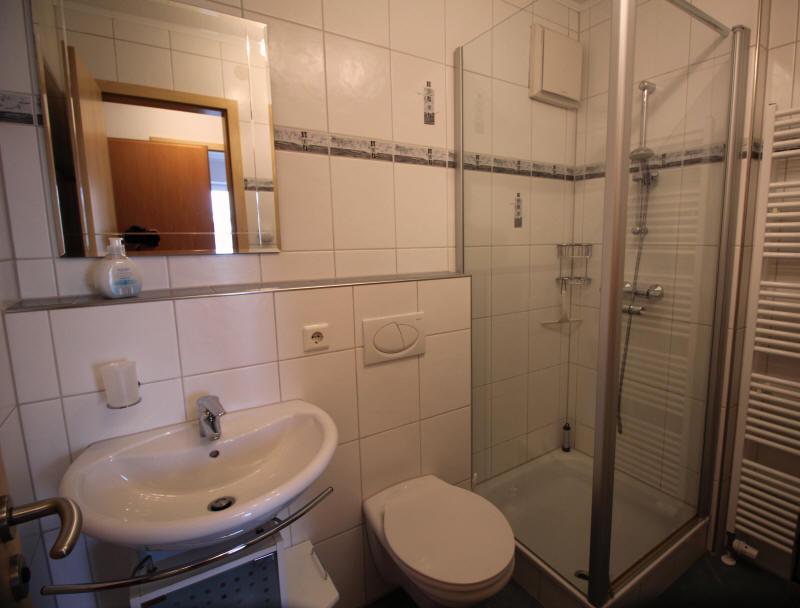 Das Badezimmer Nr. im Strandpalais Wohnung nr.10 mit Dusche