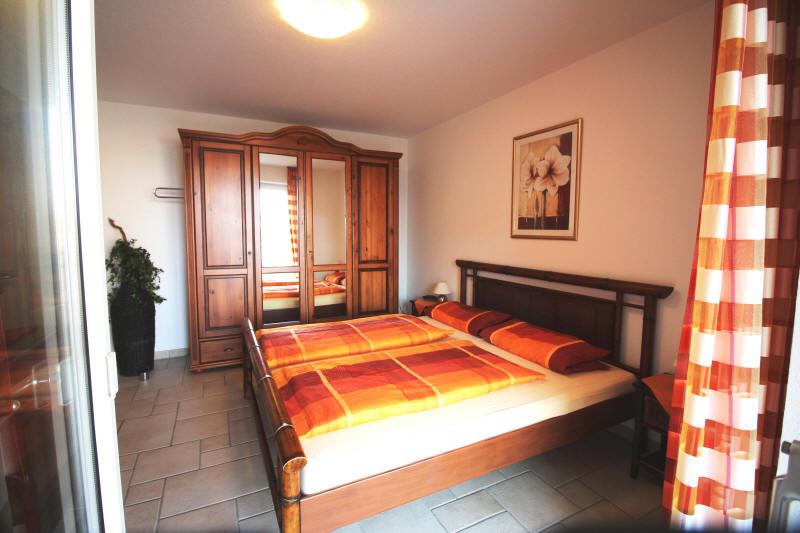 Das große Schlafzimmer Nr.1 im Strandpalais Nr.10
