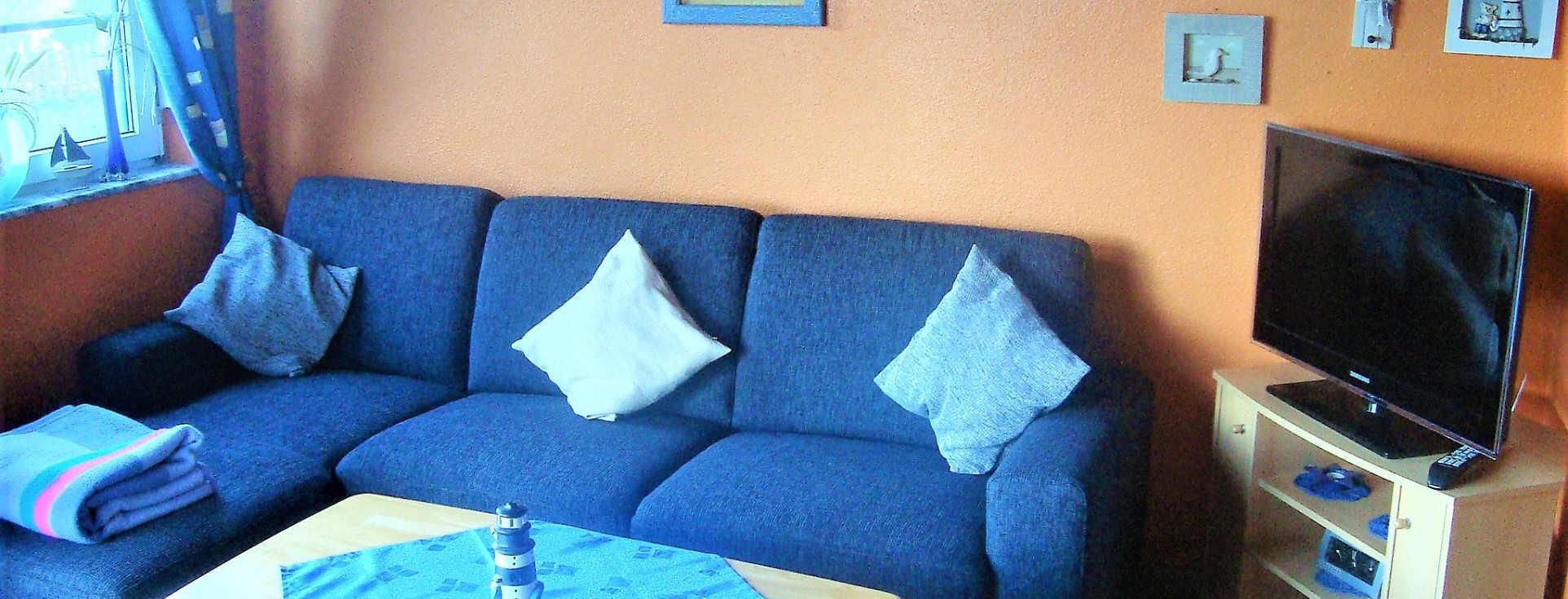 Ferienhaus Strolchi neues Sofa