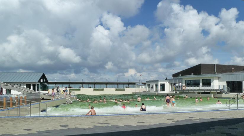 Schwimmbd in Dorum am Dorumer Tief