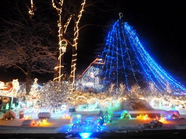 Lichterglanz in Calle