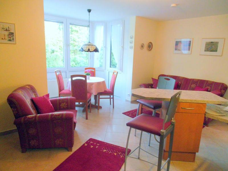 Geschmackvoll eingerichtete Ferienwohnung im Haus Elbstrom Cuxhaven