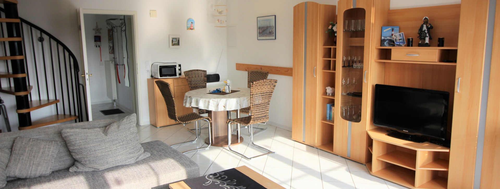 Haus Sonnenstrahl  Nr.12 im Küstenbadeort Dorum-Neufeld