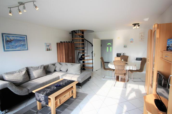 das beliebte Haus Sonnenstrahl Nr.12 Wohnzimmer lichtdurchflutet