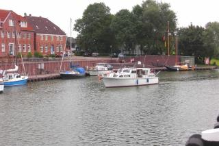 der alte Hafen in Hooksiel