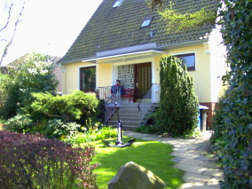 Ferienhaus Wiking in Cuxhaven. belieb für Familienurlaub mit großem garten.