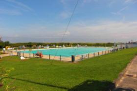Das Schwimmbad in Cuxhaven Steinmarne, Duhnen/D?e