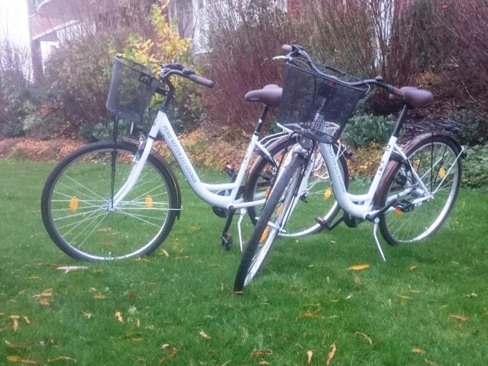 Fahrräder im Neptun 211