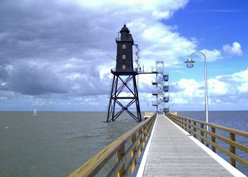 Leuchtturm Eversand in Dorum-Neufeld