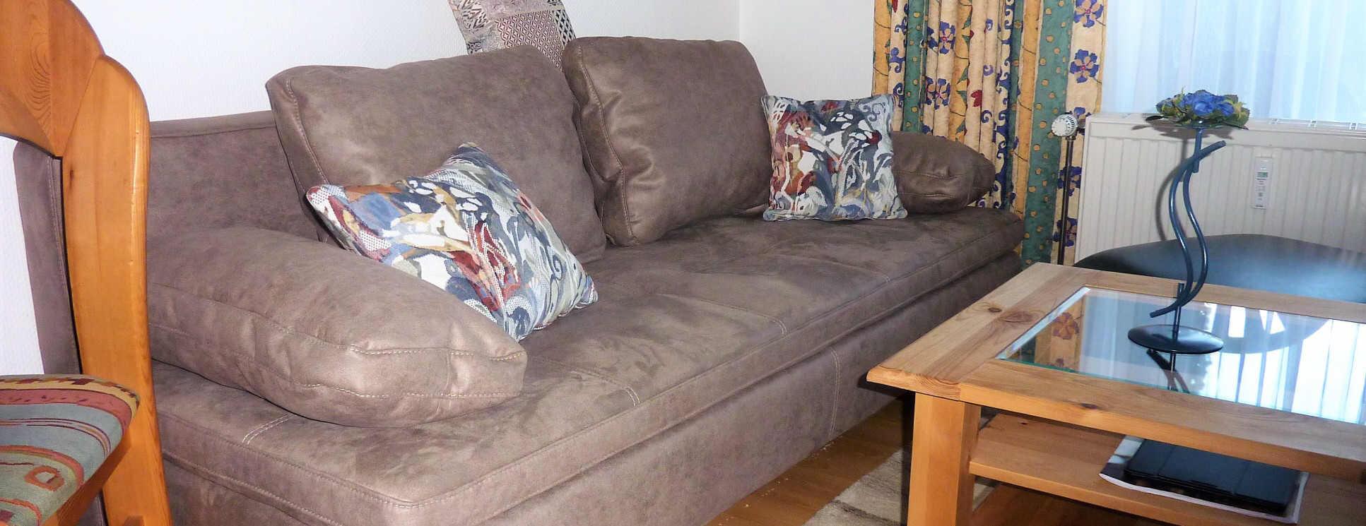 neues Sofa in Borkum5, beliebt bei Gästen