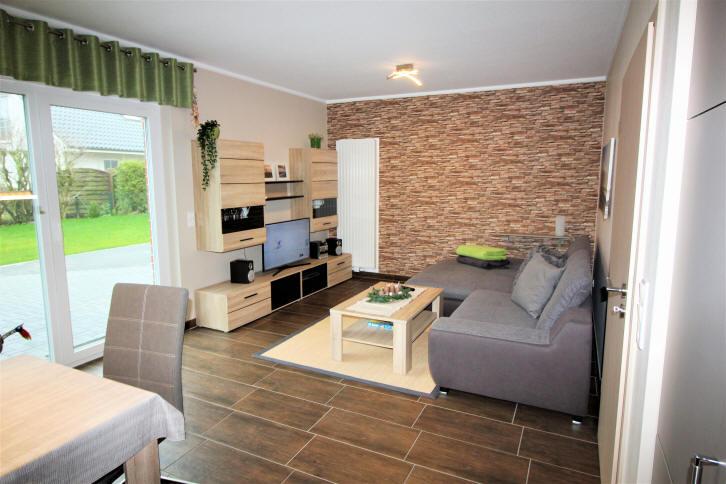 Wohnzimmer Haus am Wasser in Dorum-Neufeld