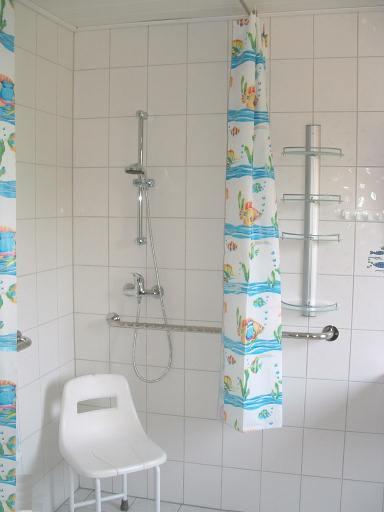 Blick in die Dusche