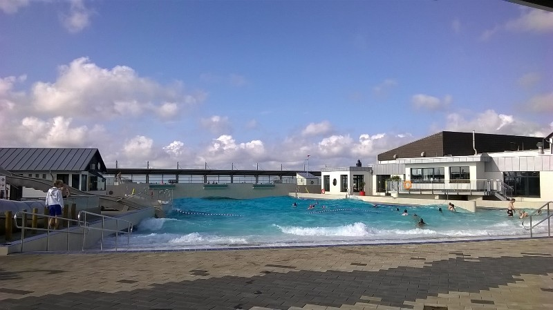 Wellenfreibad in Dorum-Neufeld im September 2014